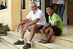 "Vietnam War veteran Mark Oconnor sits with his pal, 15-year-old Nguyen Doang Lee, at a school in the rural highlands district of A Luoi, Vietnam in this picture taken in 2014. Lee spent only four years in school before dropping out when he just eight-years-old. For the past seven years, he has worked to support his mother by selling postcards to tourists in the former imperial capital of Hue. Oconnor, 64, of Sioux Falls, S.D., bought a bicycle for Lee so he could work more easily, and the pair have formed a close bond. ""I'd bring him back home with me, if I could,"" said Oconnor. Lee described his friend as a ""very good man."" April 21, 2014."