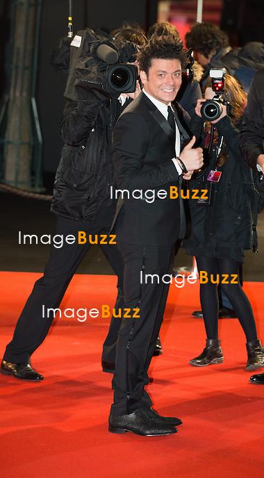 Kev Adams &agrave; la 39&egrave;me c&eacute;r&eacute;monie des C&eacute;sar au th&eacute;&acirc;tre du Ch&acirc;telet &agrave; Paris, le 28 f&eacute;vrier 2014.<br /> Kev Adams arrives at the 38th Cesar Ceremony (French movie awards) at Theatre du chatelet in Paris, France, on February, 28th 2014.