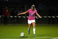 Kansas City, MO - Friday May 13, 2016: FC Kansas City forward Shea Groom (2) against the Chicago Red Stars during a regular season National Women's Soccer League (NWSL) match at Swope Soccer Village. The match ended 0-0.