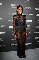 LOS ANGELES - JAN 26:  Laverne Cox at the Entertainment Weekly SAG Awards pre-party  at the Chateau Marmont  on January 26, 2019 in West Hollywood, CA