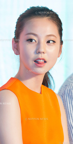 "Sohee (Wonder Girls), June 21, 2016 : South Korean actress Sohee attends a press conference for her new movie,""Train to Busan"" in Seoul, South Korea. The zombie-action movie was filmed by recognized animator, Yeon Sang-ho and was premiered at Cannes Film Festival in the out of competition ""Midnight Screenings"" category this year. (Photo by Lee Jae-Won/AFLO) (SOUTH KOREA)"
