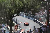 May 28th 2017, Monaco; F1 Grand Prix of Monaco Race Day;  Sebastian Vettel - Scuderia Ferrari SF70H on his way to winning the race