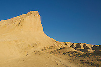 Manly Beacon, viewed from Golden Canyon, Death Valley National Park, California