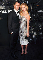 NEW YORK CITY, NY, USA - NOVEMBER 20: Michael Polish, Kate Bosworth arrive at the Hugo Boss Prize 2014 held at the Guggenheim Museum on November 20, 2014 in New York City, New York, United States. (Photo by Celebrity Monitor)