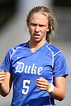 09 September 2011: Duke's Kaitlyn Kerr. The Duke University Blue Devils defeated the Texas A&M Aggies 7-2 at Koskinen Stadium in Durham, North Carolina in an NCAA Division I Women's Soccer game.