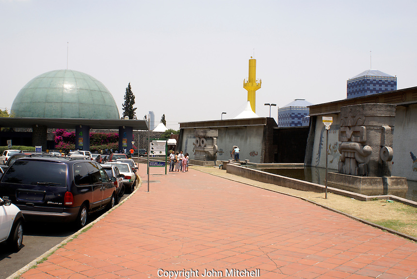The Papalote Museo del Nino, a children's museum in the Second Section of Chapultepec Park, Mexico City