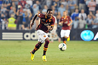 Sporting Park, Kansas City, Kansas, July 31 2013:<br /> Junior Tallo (20) AS Roma forward in action.<br /> MLS All-Stars were defeated 3-1 by AS Roma at Sporting Park, Kansas City, KS in the 2013 AT & T All-Star game.