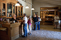 Tasting Room at the Sunstone Vineyards and Winery located 30 minutes north of Santa Barbara in the Santa Ynez Valley