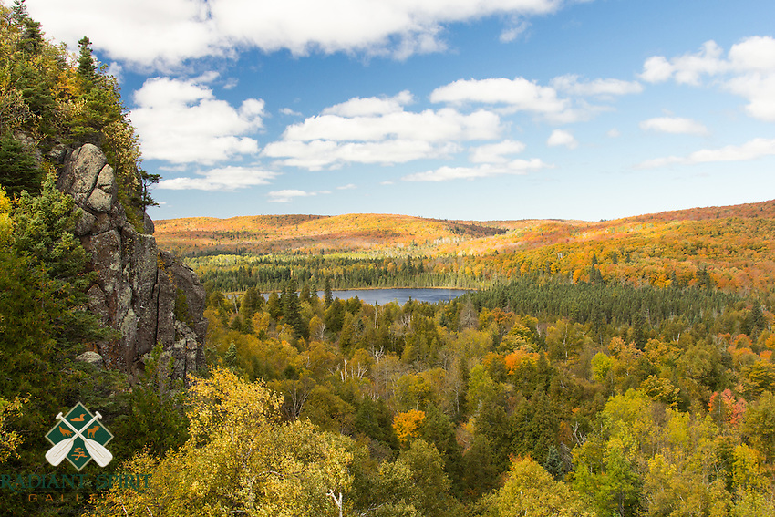 &quot;Autumn Grandeur&quot;<br /> The views from Oberg Mountain are stunning in Autumn. We enjoy watching the clouds cast shadows as they pass overhead. We're soon in awe as the sun bathes the land, accentuating nature's brilliant palette.
