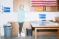 Hillary Clinton - Clinton Campaign Office - Miami, FL - 9 October 2016