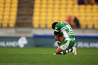 Manawatu's Johnny Leota reflects on the loss. Air NZ Cup - Wellington Lions v Manawatu Turbos at Westpac Stadium, Wellington, New Zealand. Saturday 3 October 2009. Photo: Dave Lintott / lintottphoto.co.nz