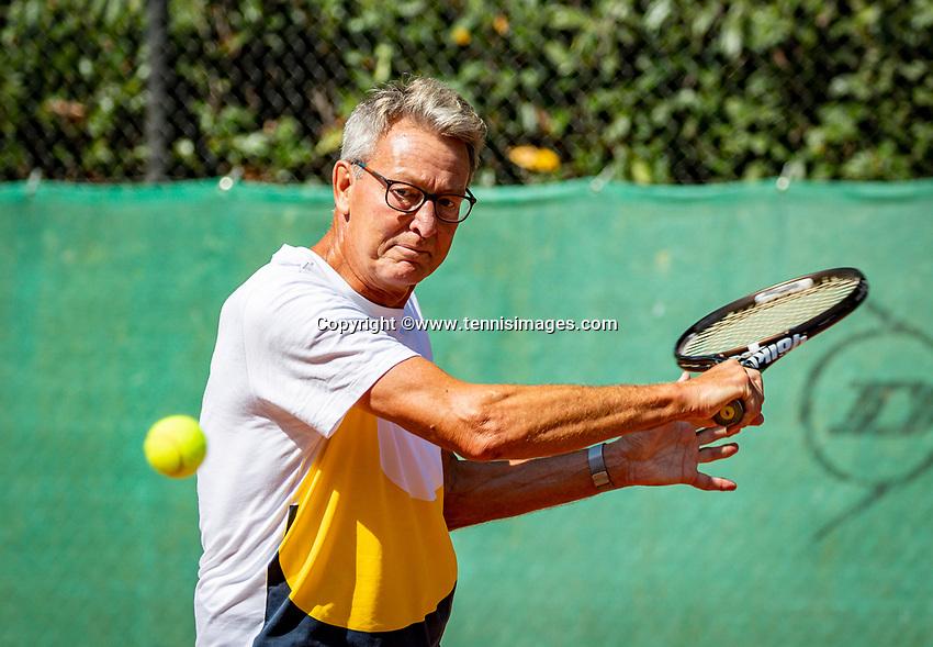 Hilversum, The Netherlands,  August 23, 2019,  Tulip Tennis Center, NSK, Jan Schoemaker (NED)<br /> Photo: Tennisimages/Henk Koster
