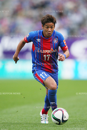 Hiroki Kawano (FC Tokyo), <br /> APRIL 18, 2015 - Football /Soccer : <br /> 2015 J1 League 1st stage match <br /> between F.C. Tokyo 1-2 Sanfrecce Hiroshima <br /> at Ajinomoto Stadium, Tokyo, Japan. <br /> (Photo by YUTAKA/AFLO SPORT) [1040]