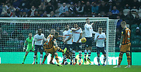 Hull City's Kamil Grosicki shoots over the bar from this free kick<br /> <br /> Photographer Stephen White/CameraSport<br /> <br /> The EFL Sky Bet Championship - Preston North End v Hull City - Wednesday 26th December 2018 - Deepdale Stadium - Preston<br /> <br /> World Copyright &copy; 2018 CameraSport. All rights reserved. 43 Linden Ave. Countesthorpe. Leicester. England. LE8 5PG - Tel: +44 (0) 116 277 4147 - admin@camerasport.com - www.camerasport.com