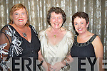 BALL: Caroline O'Halloran, Eileen Finn and Jacky McCuil (Tralee) having a greaty night at the Nurses Graduation Ball in Ballygarry House Hotel & Spa, Tralee....