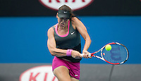 AJLA TOMLJANOVIC (CRO)<br /> <br /> Tennis - Australian Open - Grand Slam -  Melbourne Park -  2014 -  Melbourne - Australia  - 16th January 2013. <br /> <br /> &copy; AMN IMAGES, 1A.12B Victoria Road, Bellevue Hill, NSW 2023, Australia<br /> Tel - +61 433 754 488<br /> <br /> mike@tennisphotonet.com<br /> www.amnimages.com<br /> <br /> International Tennis Photo Agency - AMN Images