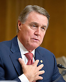 """United States Senator David Perdue (Republican of Georgia) questions the witnesses during testimony before the United States Senate Committee on Foreign Relations concerning """"Sanctions and the Joint Comprehensive Plan of Action (JCPOA)"""" on Capitol Hill on Wednesday, July 29, 2015.<br /> Credit: Ron Sachs / CNP"""
