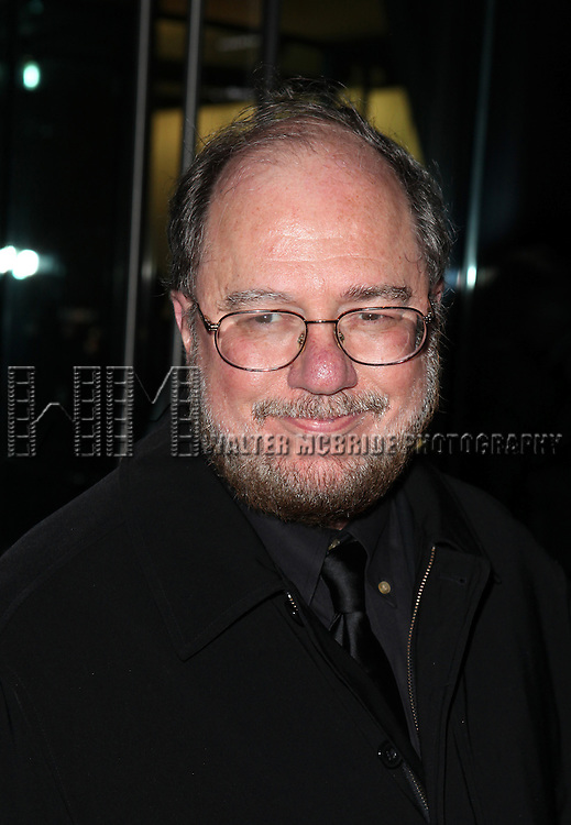 Rupert Holmes attending the Memorial To Honor Marvin Hamlisch at the Peter Jay Sharp Theater in New York City on 9/18/2012.