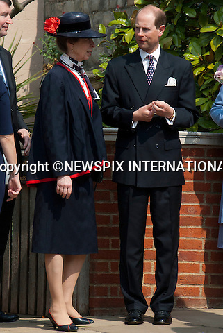 "THE ROYAL FAMILY ATTEND EASTER SERVICE.The Queen, Prince Phillip, Princess Anne, Prince Andrew, Prince Edward, Princess Beatrice, Princess Eugenie, Sophie Countess of Wessex and Tim Lawrence attended the Easter Service at St Georges Chapel, Windsor Castle_24/04/2011.Mandatory Photo Credit: ©Shaw/Newspix International..**ALL FEES PAYABLE TO: ""NEWSPIX INTERNATIONAL""**..PHOTO CREDIT MANDATORY!!: NEWSPIX INTERNATIONAL(Failure to credit will incur a surcharge of 100% of reproduction fees)..IMMEDIATE CONFIRMATION OF USAGE REQUIRED:.Newspix International, 31 Chinnery Hill, Bishop's Stortford, ENGLAND CM23 3PS.Tel:+441279 324672  ; Fax: +441279656877.Mobile:  0777568 1153.e-mail: info@newspixinternational.co.uk"