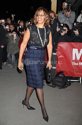 Gayle King at the New York Premiere of 'Valentino: The Last Emperor' at The Museum of Modern Art in The Roy and Niuta Titus I Theater. March 17, 2009 Credit: Dennis Van Tine/MediaPunch