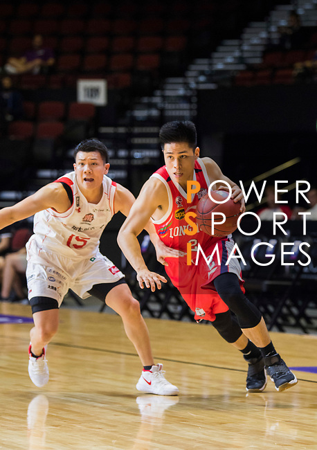 Chiba Jets vs Guangzhou Long-Lions during The Asia League's 'The Terrific 12' at Studio City Event Center on 18 September 2018, in Macau, Macau. Photo by Chung Yan Man / Power Sport Images for Asia League