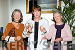Maria Murphy Fossa, Mary Nolan and Kathleen O'Malley Beaufort at the Killarney Rotary afternoon tea fashion show in the Malton Hotel on Saturday,