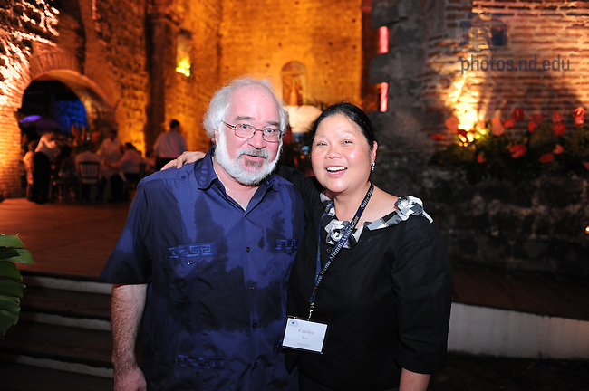 Latin American & Caribbean reunion, 2008: Dinner at the ruins...Photo by Matt Cashore/University of Notre Dame