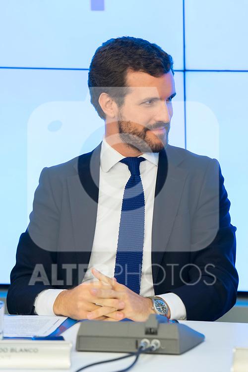 Pablo Casado during the General Council of Partido Popular. July 29, 2019. (ALTERPHOTOS/Francis González)