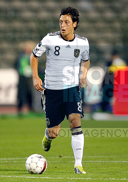 Mesut Oezil of Germany in action