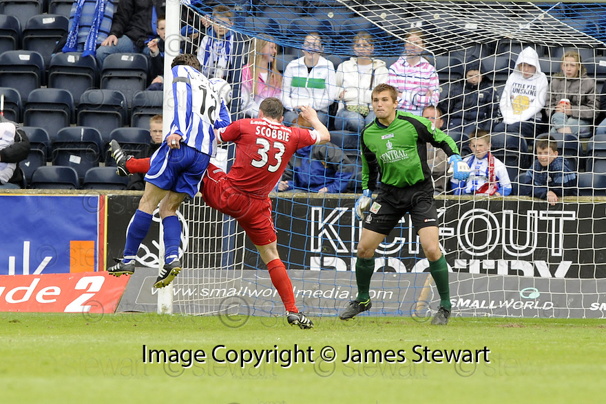 17/05/2008   Copyright Pic: James Stewart.File Name : sct_jspa12_kilmarnock_v_falkirk.PAUL DI GIACOMO SCORES KILMARNOCK'S SECOND.James Stewart Photo Agency 19 Carronlea Drive, Falkirk. FK2 8DN      Vat Reg No. 607 6932 25.Studio      : +44 (0)1324 611191 .Mobile      : +44 (0)7721 416997.E-mail  :  jim@jspa.co.uk.If you require further information then contact Jim Stewart on any of the numbers above........