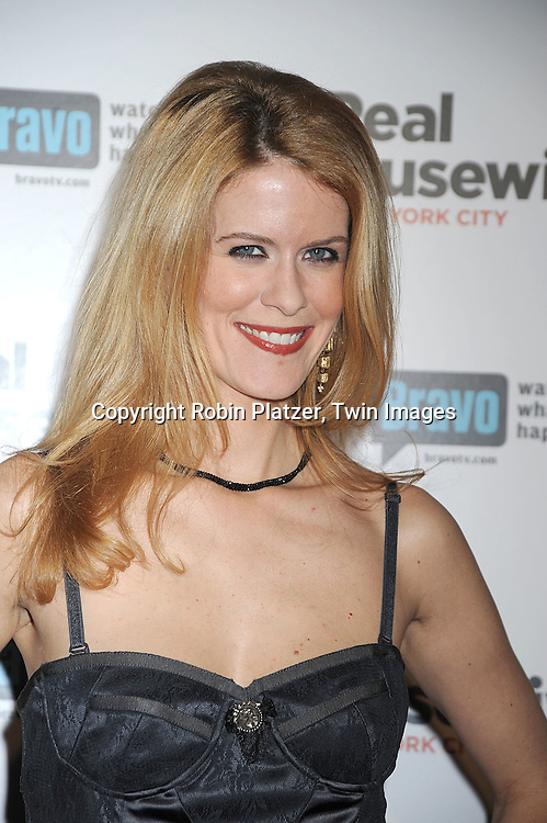 "Alex McCord in Galliano dress..attending the Premiere for the second season of Bravo's series ""The Real Housewives of New York City"" on ..February 11, 2009 at Gilt @ The Palace Hotel in New York City. ....Robin Platzer, Twin Images"