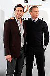 Actors Javier Bardem and Daniel Craig attend 'Skyfall' photocall on October 29, 2012 in Madrid, Spain. .(ALTERPHOTOS/Harry S. Stamper)