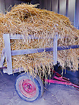 WALLY BAUMAN PHOTOGRAPHY.  Hay and straw wagon.