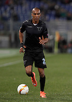 Calcio, Europa League: Lazio vs Sparta Praga. Roma, stadio Olimpico, 17 marzo 2016.<br /> Lazio's Abdoulay Konko in action during the round of 16 second leg soccer match between Lazio and Sparta Praha, at Rome's Olympic Stadium, 17 March 2016. Sparta Praha won 3-0 to join the quarter finals.<br /> UPDATE IMAGES PRESS/Isabella Bonotto