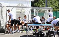 05.06.2018: Teamfoto und Training der Nationalmannschaft