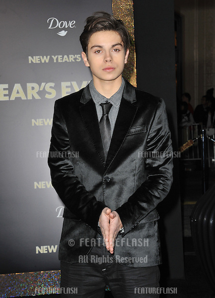 "Jake T. Austin at the world premiere of his new movie ""New Year's Eve"" at Grauman's Chinese Theatre, Hollywood..December 5, 2011  Los Angeles, CA.Picture: Paul Smith / Featureflash"