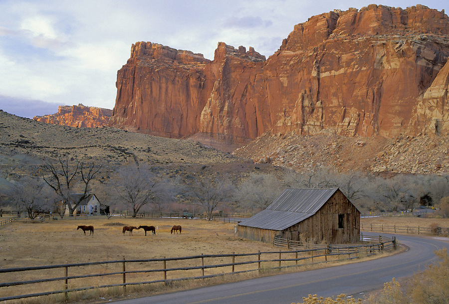 Pioneer farm, Fruita, Capitol Reef National Park, Utah