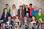 Jackie Healy Rae launches the book 'Living off the Land' in the Brehon Hotel Killarney on Saturday night front row l-r: Michael Healy Rae, Josephine Russell Author, Jackie Healy Rae TD, Lily Lenihan Photographer. Back row: Catherine Lenihan Ballymac, Kate Carmody Beale, Eleanor Cremin Ballydonough, Kitty Doyle Killorglin, Rita Foley Dromid, Mary Lenihan Kenmare, Breda Lynch Kenmare, mary Quilter Scartaglen and Marie McEnery Ballybunion   Copyright Kerry's Eye 2008