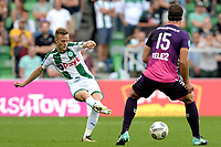 GRONINGEN - Voetbal, FC Groningen - FC Utrecht,  Eredivisie , Noordlease stadion, seizoen 2017-2018, 27-08-2017,   FC Groningen speler Todd Kane