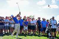 Zach Johnson (USA) hits his approach shot on 9 during round 2 of the Honda Classic, PGA National, Palm Beach Gardens, West Palm Beach, Florida, USA. 2/24/2017.<br /> Picture: Golffile | Ken Murray<br /> <br /> <br /> All photo usage must carry mandatory copyright credit (&copy; Golffile | Ken Murray)