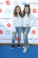 "LOS ANGELES - NOV 18:  Bianca D'Ambrosio, Chiara D'Ambrosio, The D'Ambrosio Twins at the UCLA Childrens Hospital ""Party on the Pier"" at the Santa Monica Pier on November 18, 2018 in Santa Monica, CA"