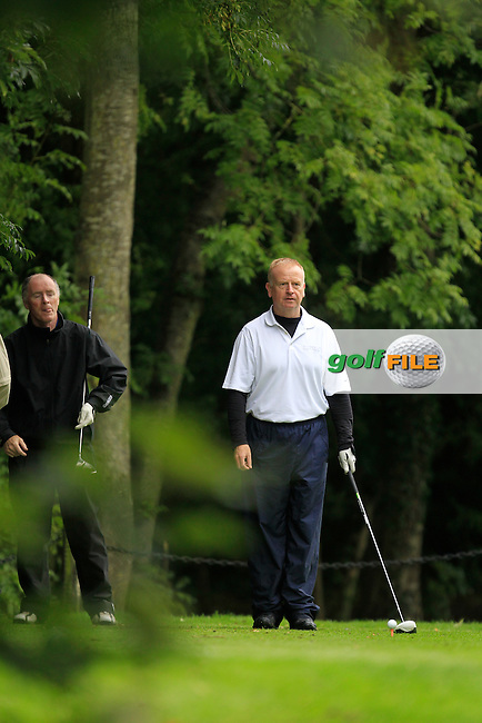 Paul Casey (Corrstown) on the 12th tee during Practice day for the AIG Cups &amp; Shields Finals in Royal Tara Golf Club on Tuesday 17th September 2013.<br /> Picture:  Thos Caffrey / www.golffile.ie