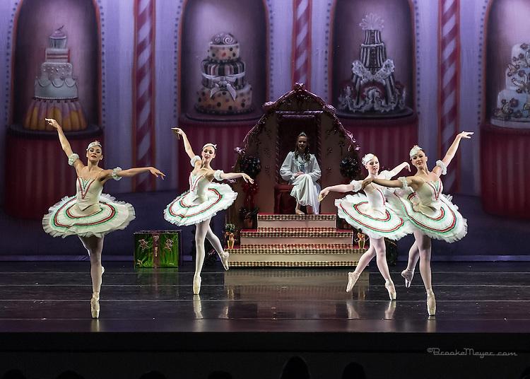 """Cary Ballet Company, """"Visions of Sugarplums"""", Saturday Matinee, 20 Dec. 2014, Cary Arts Center, Cary, North Carolina."""