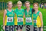 Mary Barrett, Tina Donovan, Barbara Podraza and Siobhan Daly after taking part in Novice Cross Country Championships last Sunday 6th October 2013, Demense, Killarney.