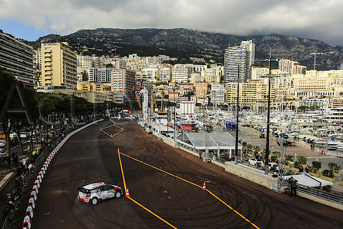 21.01.2016. Monte Carlo, Monaco. The Monte Carlo Rally 2016. The presentation of the cars and drivers in Monaco.  k al qassimi - c. patterson