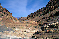 Death Valley National Park, California, CA, USA - Entrance to Mosaic Canyon in Tucki Mountain