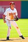 6 March 2007: Washington Nationals infielder Josh Wilson in Grapefruit League action against the Atlanta Braves at Space Coast Stadium in Viera, Florida.<br /> <br /> Mandatory Photo Credit: Ed Wolfstein Photo