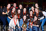 St Marys basketball team who won the NICC Womens HulaHoop Cup celebrate at their homecoming in Castleisland on Sunday evening