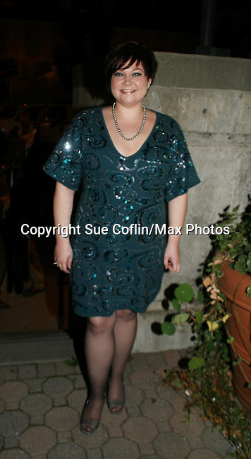 One Life To Live's Kathy Brier at the ABC Daytime Casino Night on October 23, 2008 at Guastavinos, New York CIty, New York. (Photo by Sue Coflin/Max Photos)