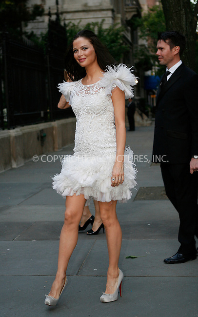 WWW.ACEPIXS.COM . . . . .  ....April 29 2010, New York City....Actress/designer Georgina Chapman arriving at Chopard's 150 years of excellence at The Frick Collection on April 29, 2010 in New York City.....Please byline: NANCY RIVERA- ACEPIXS.COM.... *** ***..Ace Pictures, Inc:  ..Tel: 646 769 0430..e-mail: info@acepixs.com..web: http://www.acepixs.com